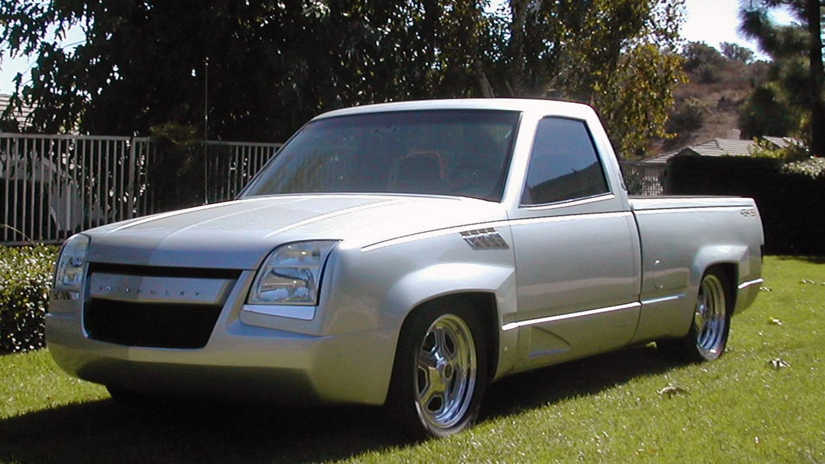Chevrolet Silverado Ss Wheels >> Hot Wheels Creator Harry Bradley Designed This 1990 Chevrolet 454 SS Pickup - autoevolution