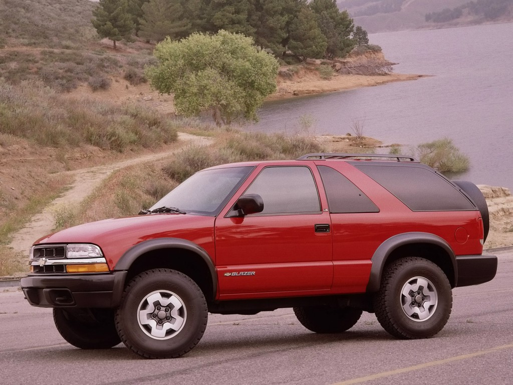Chevrolet Blazer Reported To Return In 2018 As Mid-Size Crossover ...