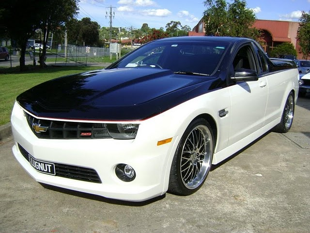 Chevrolet Camaro Faced Custom Ute Born In Australia