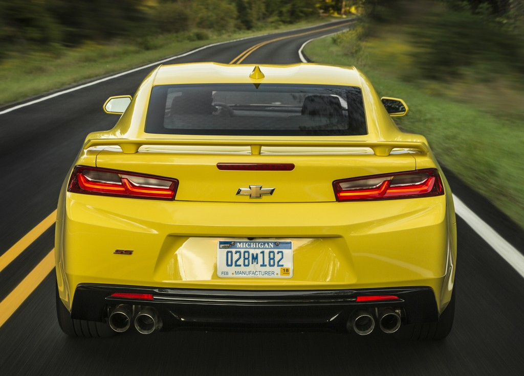 The Chevrolet Camaro Outsells The Ford Mustang For The