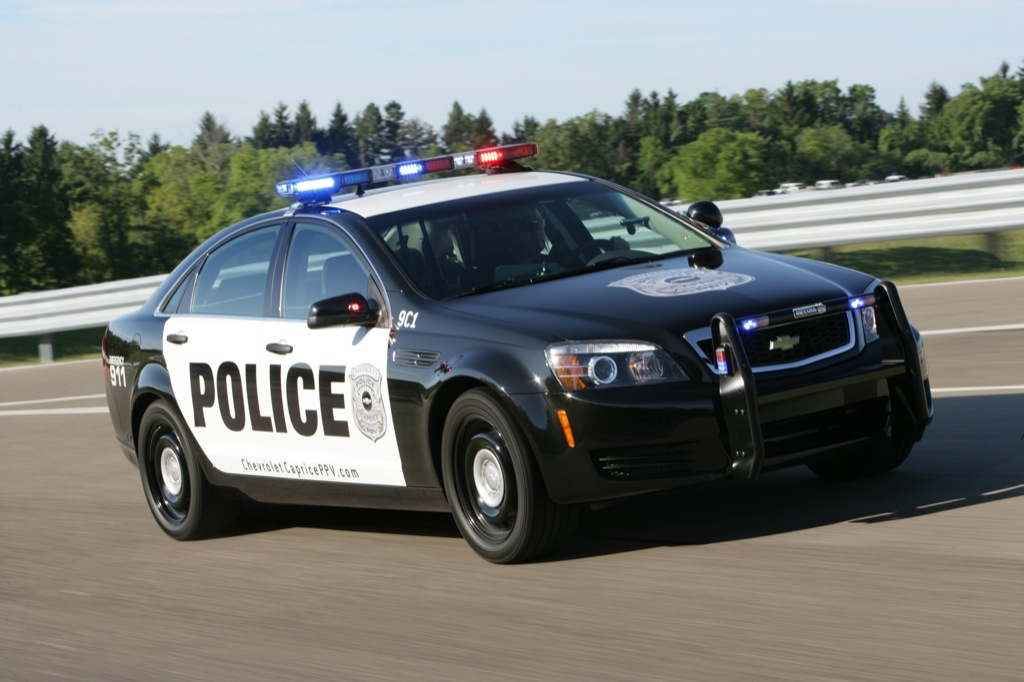 Chevrolet Caprice Police Patrol Vehicle Goes Out On Duty