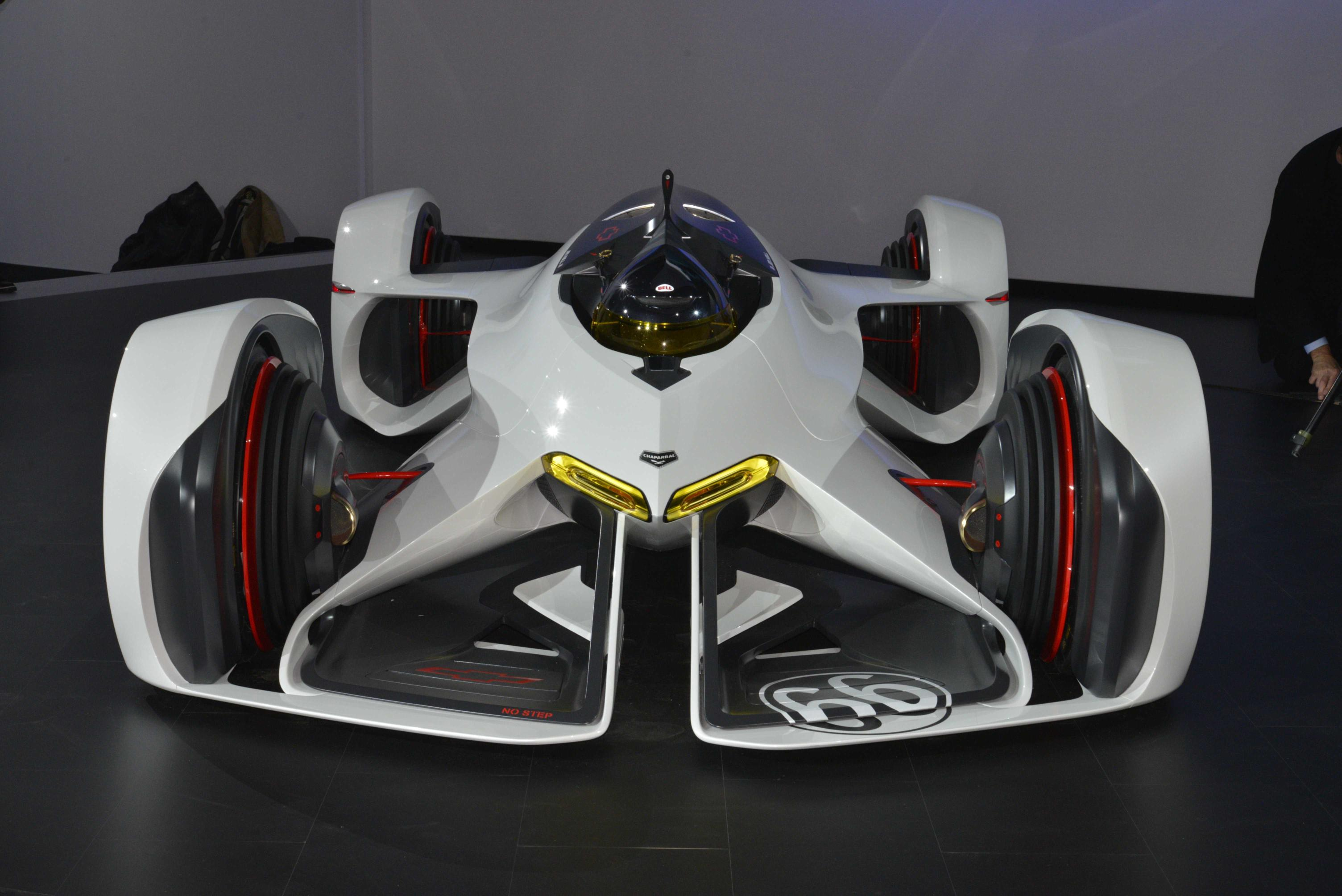 Chevrolet Chaparral Vision Gran Turismo Brings Protoss