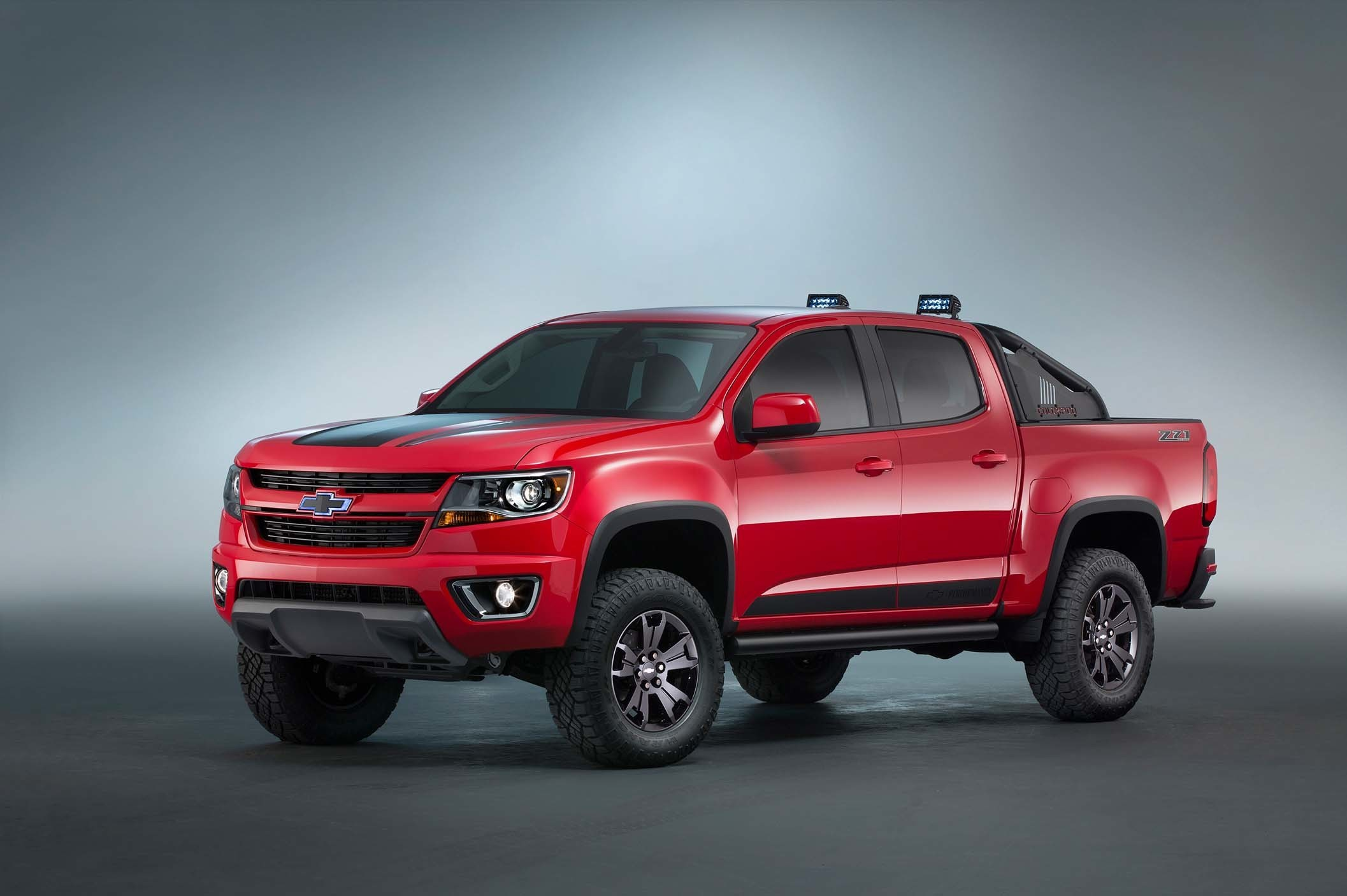 Chevrolet Colorado Z71 Trail Boss 3 0 Concept Is A Ford F 150 Raptor Clone At Sema Autoevolution