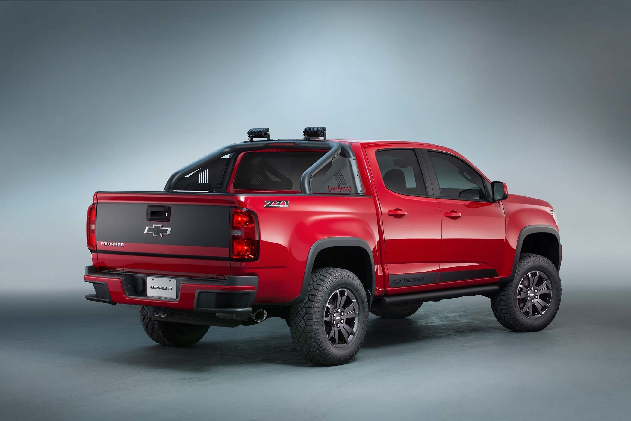 2017 Ford F 150 Towing Capacity >> Chevrolet Colorado Z71 Trail Boss 3.0 Concept Is a Ford F-150 Raptor Clone at SEMA - autoevolution