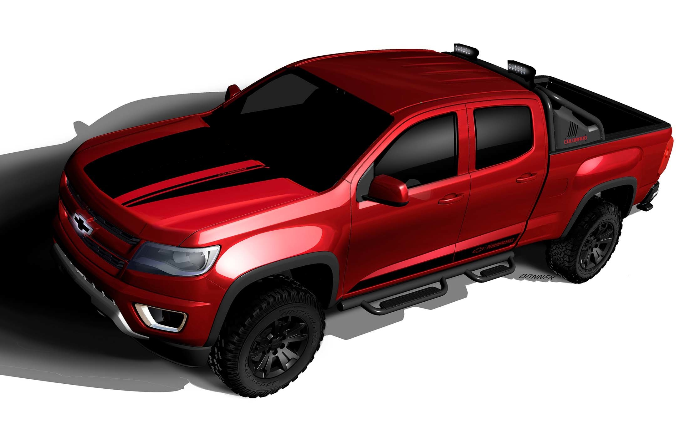 Chevrolet Colorado Z71 Trail Boss 3 0 Concept Is a Ford F 150 Raptor