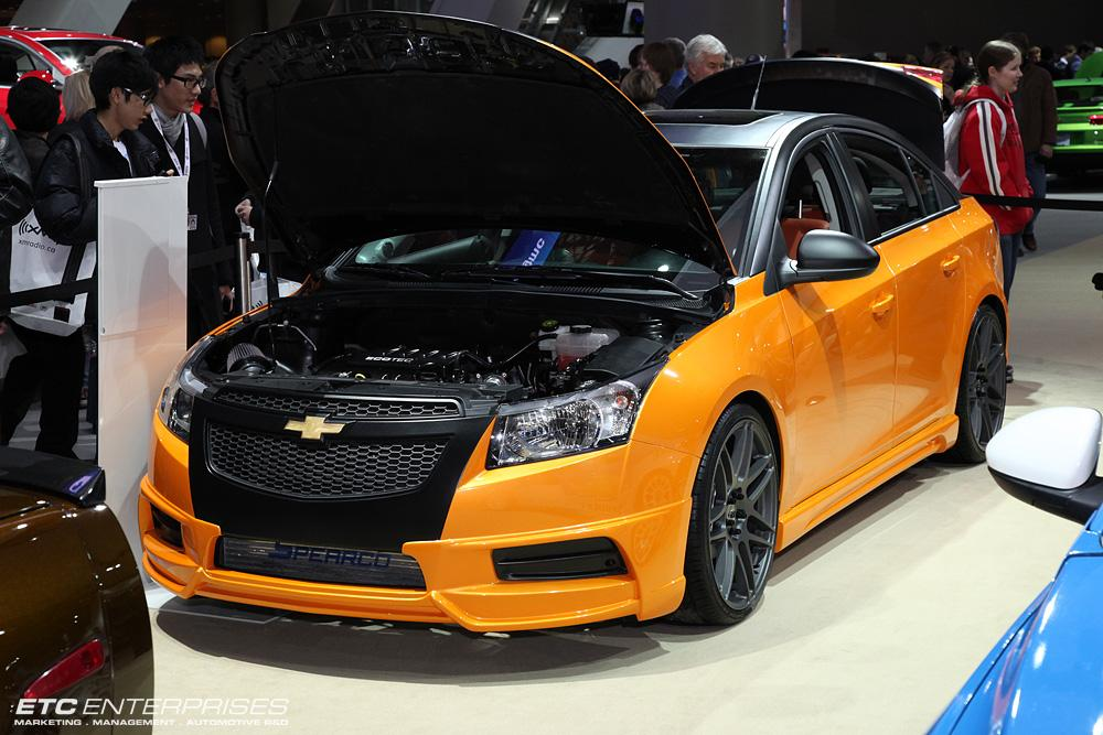 chevrolet cruze sedan reinvented by elite tuners of canada. Black Bedroom Furniture Sets. Home Design Ideas