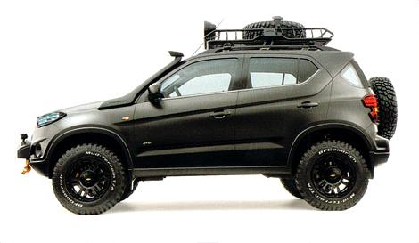 Chevrolet Niva Concept Leaked ahead of Moscow Reveal - autoevolution