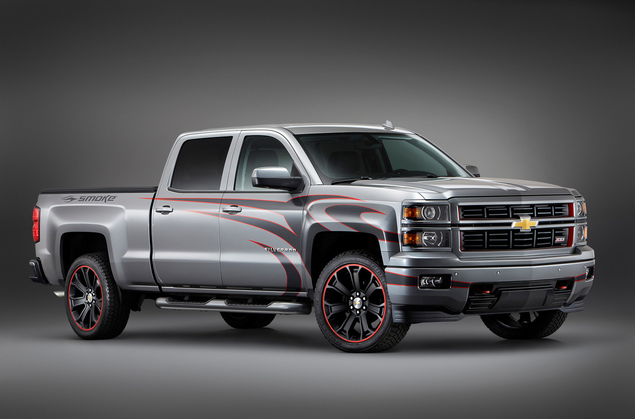 chevrolet previews new silverado concept trucks for sema autoevolution. Black Bedroom Furniture Sets. Home Design Ideas