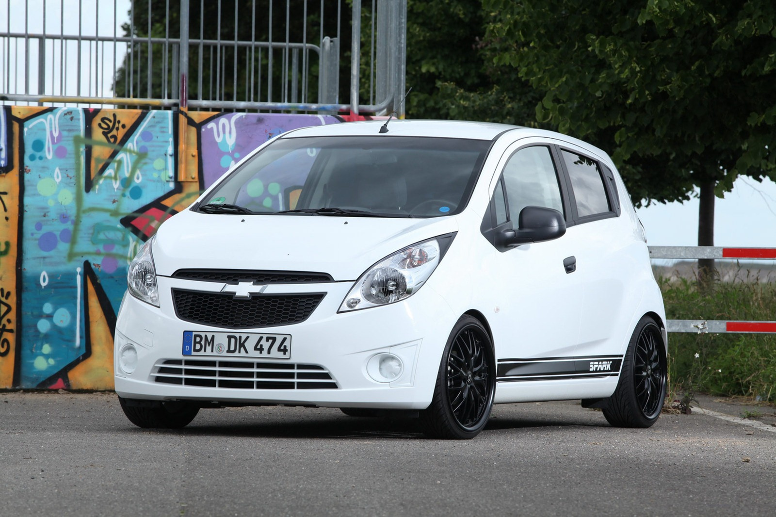 Chevrolet Spark Tuned by KBR