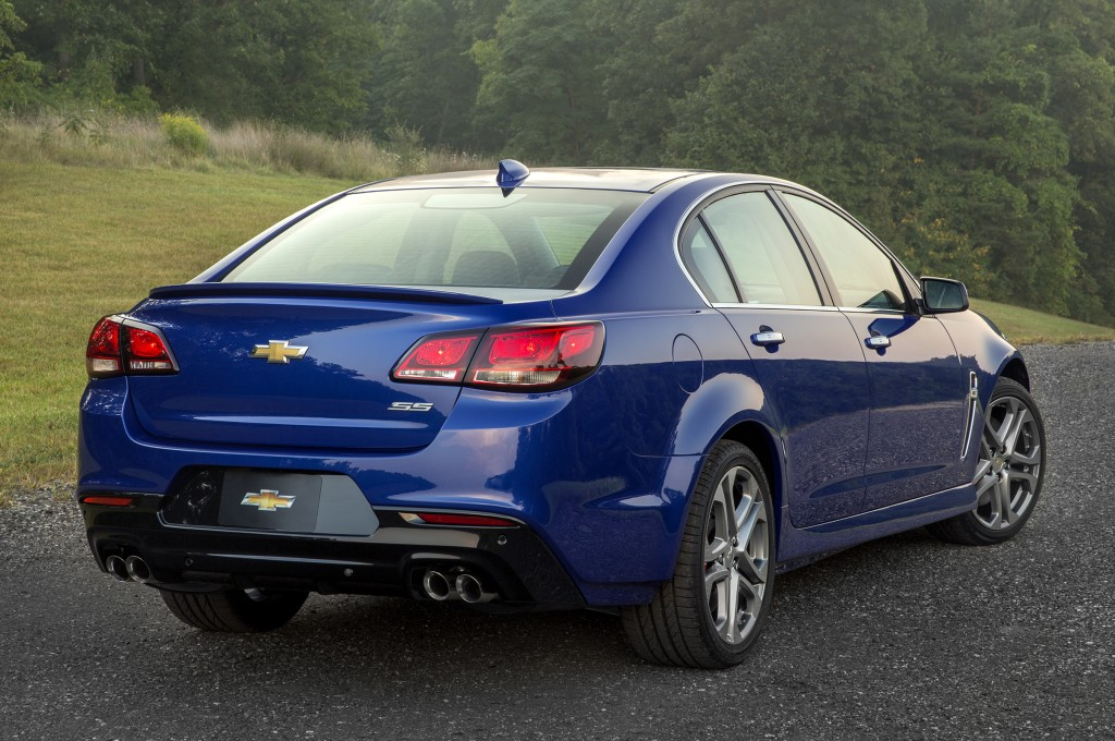 Chevrolet SS Will Bite the Dust Together With the Holden VF II