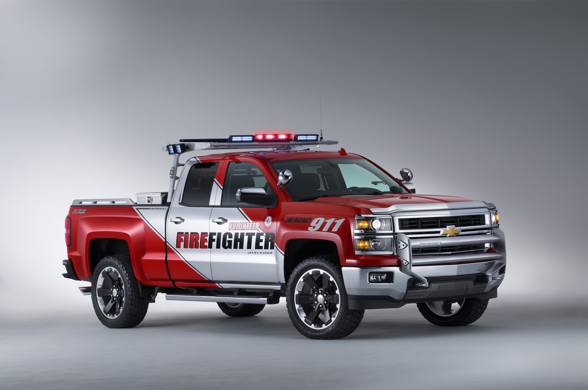 chevrolet unveils silverado black ops volunteer firefighter concepts. Cars Review. Best American Auto & Cars Review