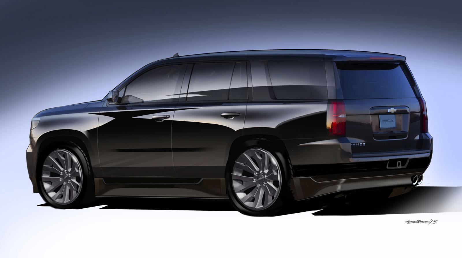 2014 Chevy Tahoe >> Chevrolet Unveils Tahoe, Suburban SEMA Concepts - autoevolution