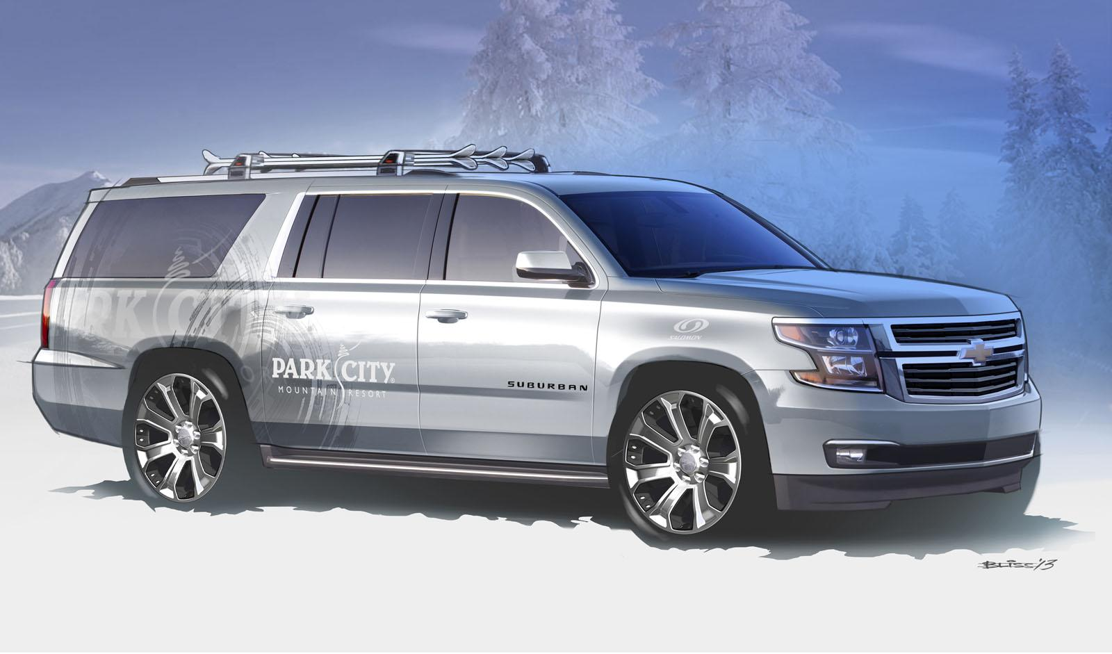 Suv With Third Row >> Chevrolet Unveils Tahoe, Suburban SEMA Concepts - autoevolution