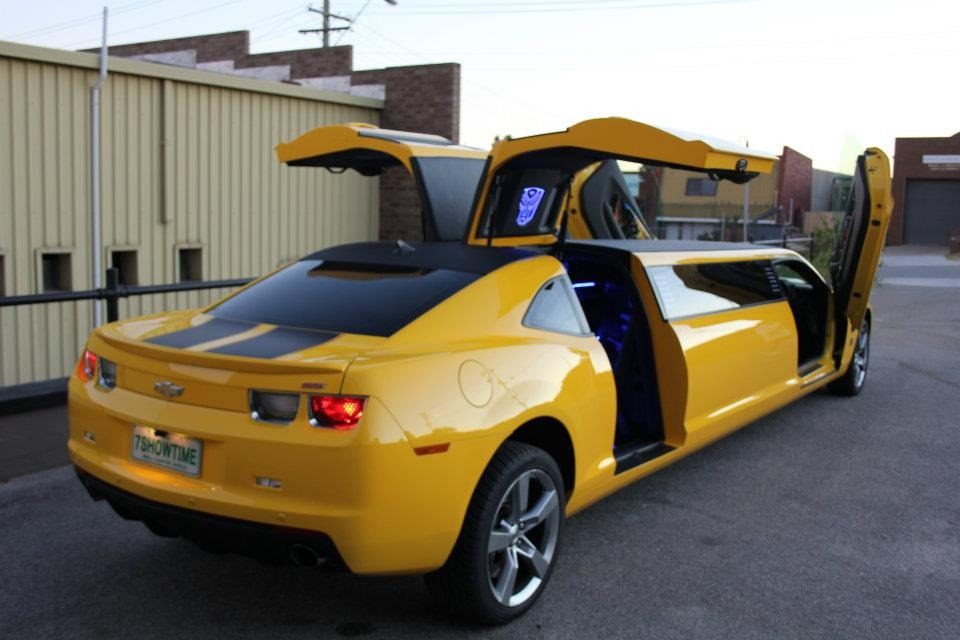 Chevy Camaro Bumblebee Unexplainably Turned Into A Stretch