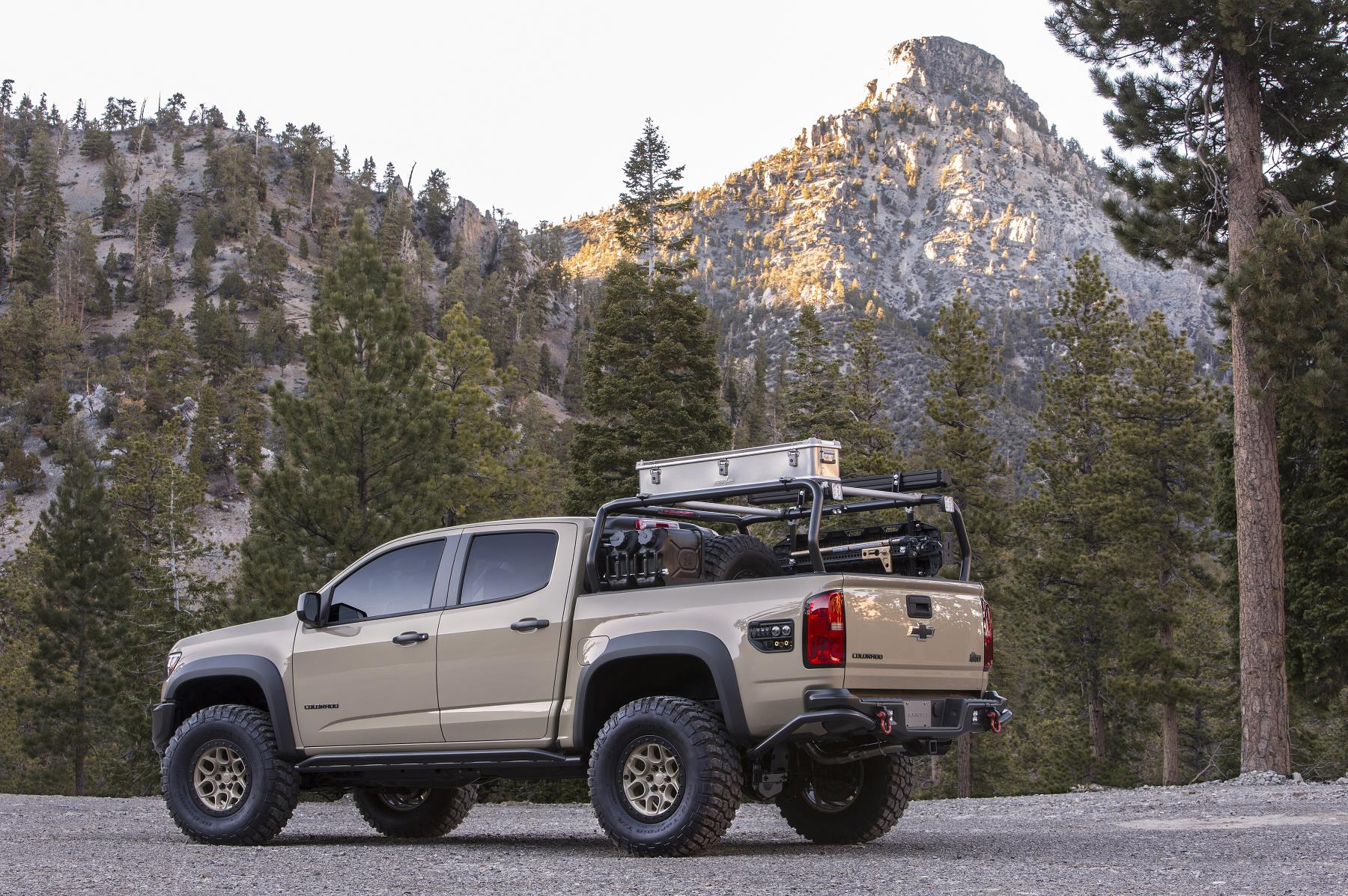 Chevy Colorado Concepts Built for Overlanding, Desert Racing at SEMA