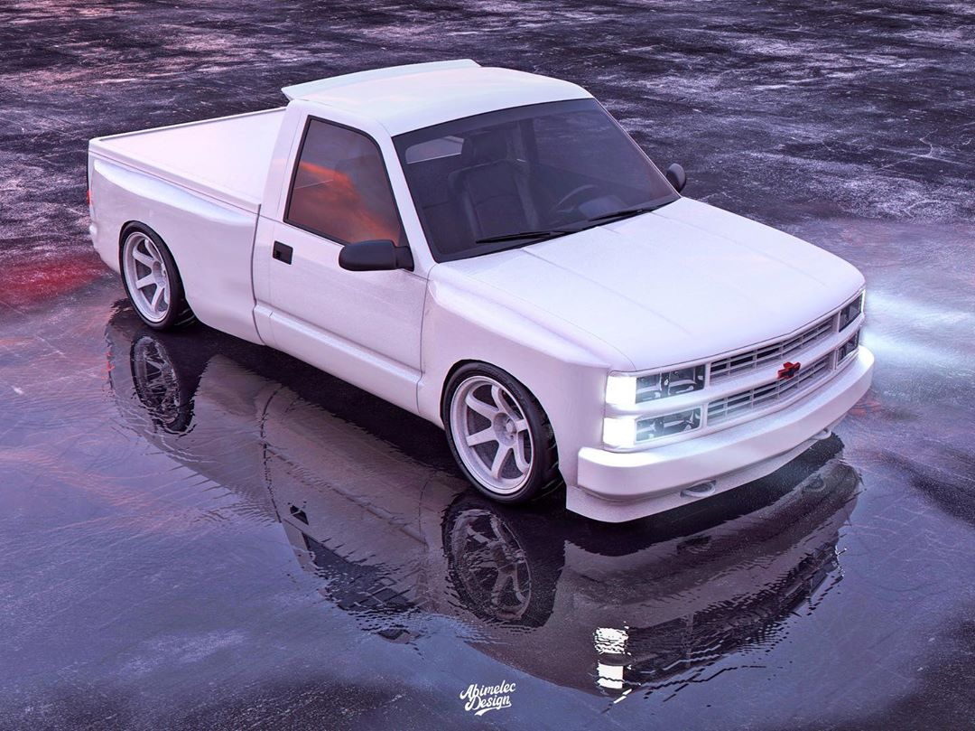 Chevy Obs White Light Looks As Clean As A Whistle Autoevolution