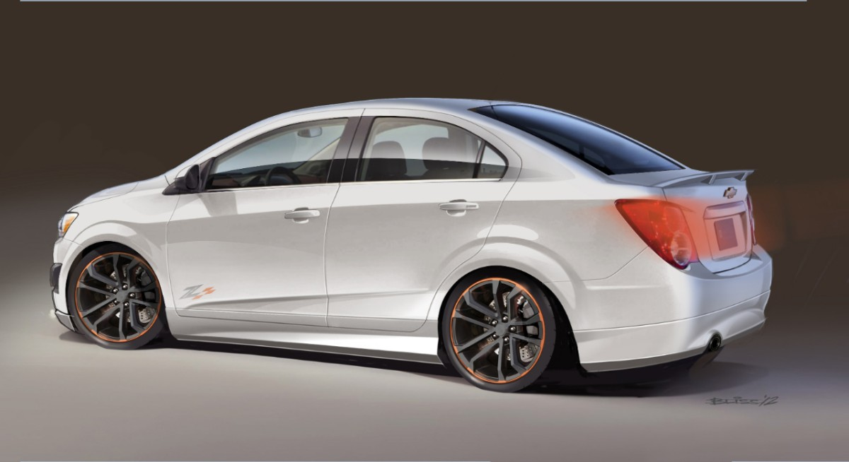 Chevy Sonic Z-Spec 2.5 Concept Preview for 2012 SEMA - autoevolution