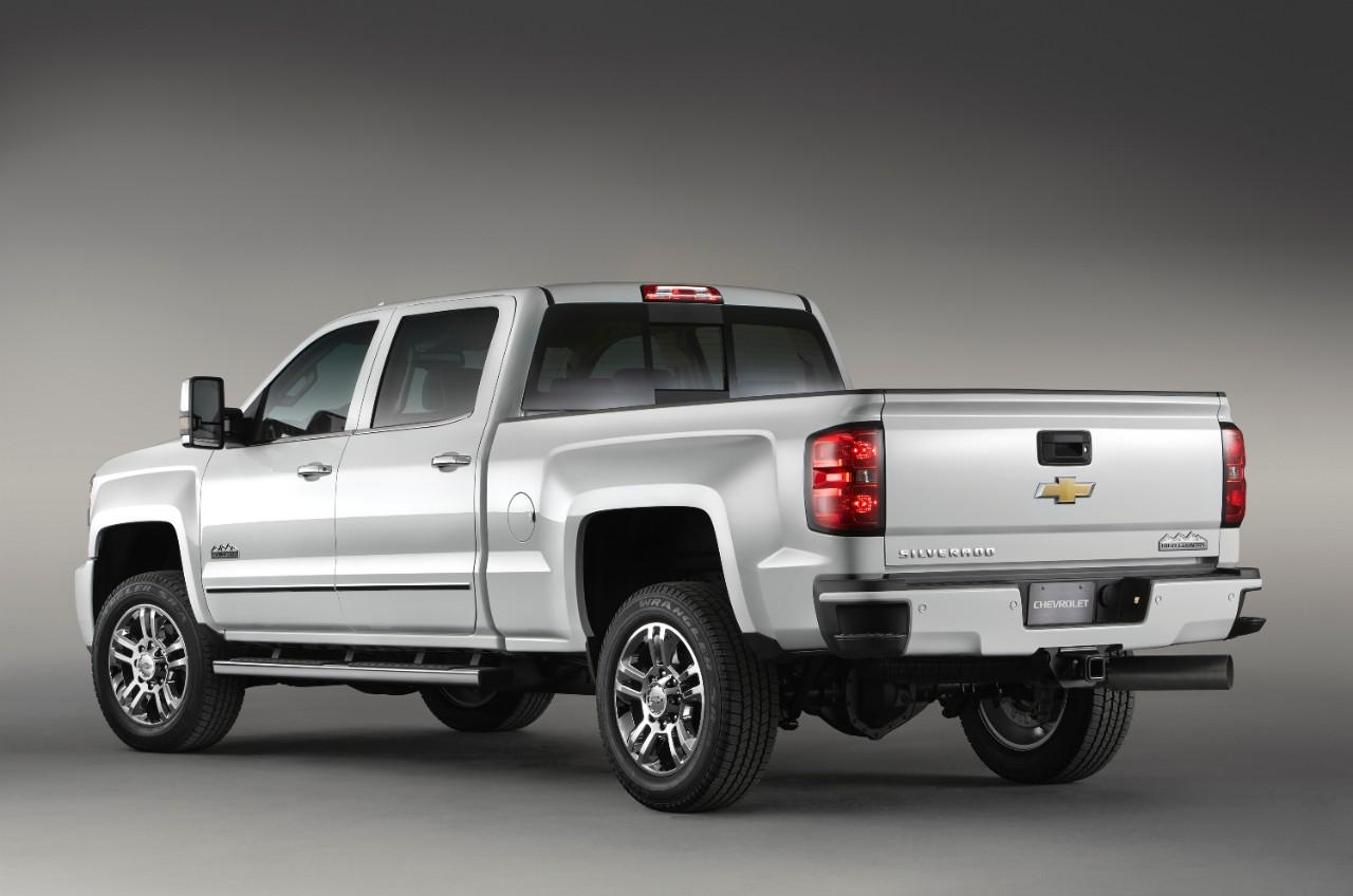 Chevy Unveils 2015 Silverado High Country HD [Video ...