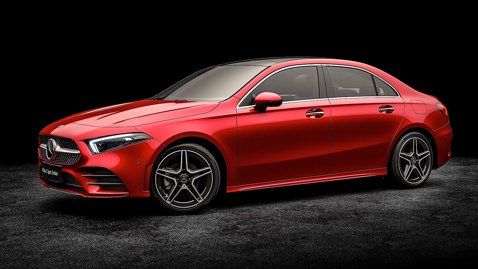 china only mercedes benz a class l sedan unveiled ahead of regular model autoevolution. Black Bedroom Furniture Sets. Home Design Ideas