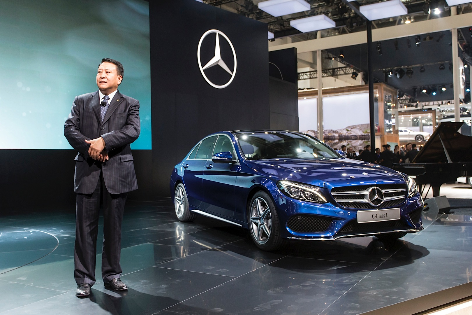 China Only Mercedes Benz C Class Long Gets Launched In
