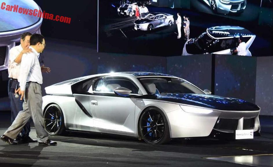 China S Hanergy Unveils Four Solar Powered Concept Cars