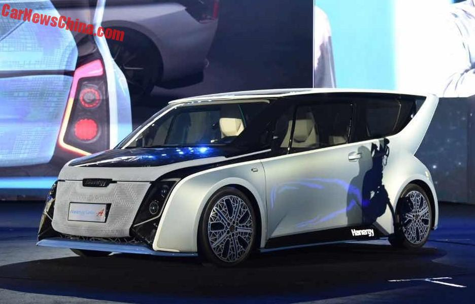 China S Hanergy Unveils Four Solar Powered Concept Cars