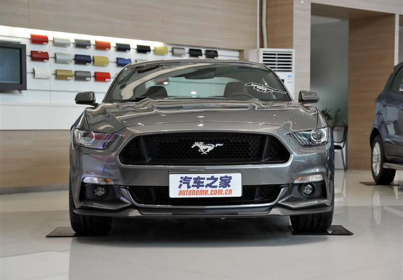 China Spec 2015 Ford Mustang GT Spotted Autoevolution