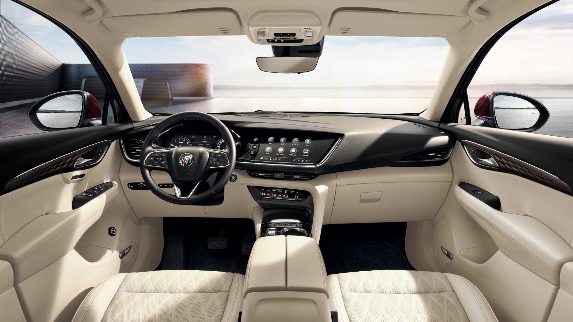 chinese 2021 buick envision interior shows premium traits