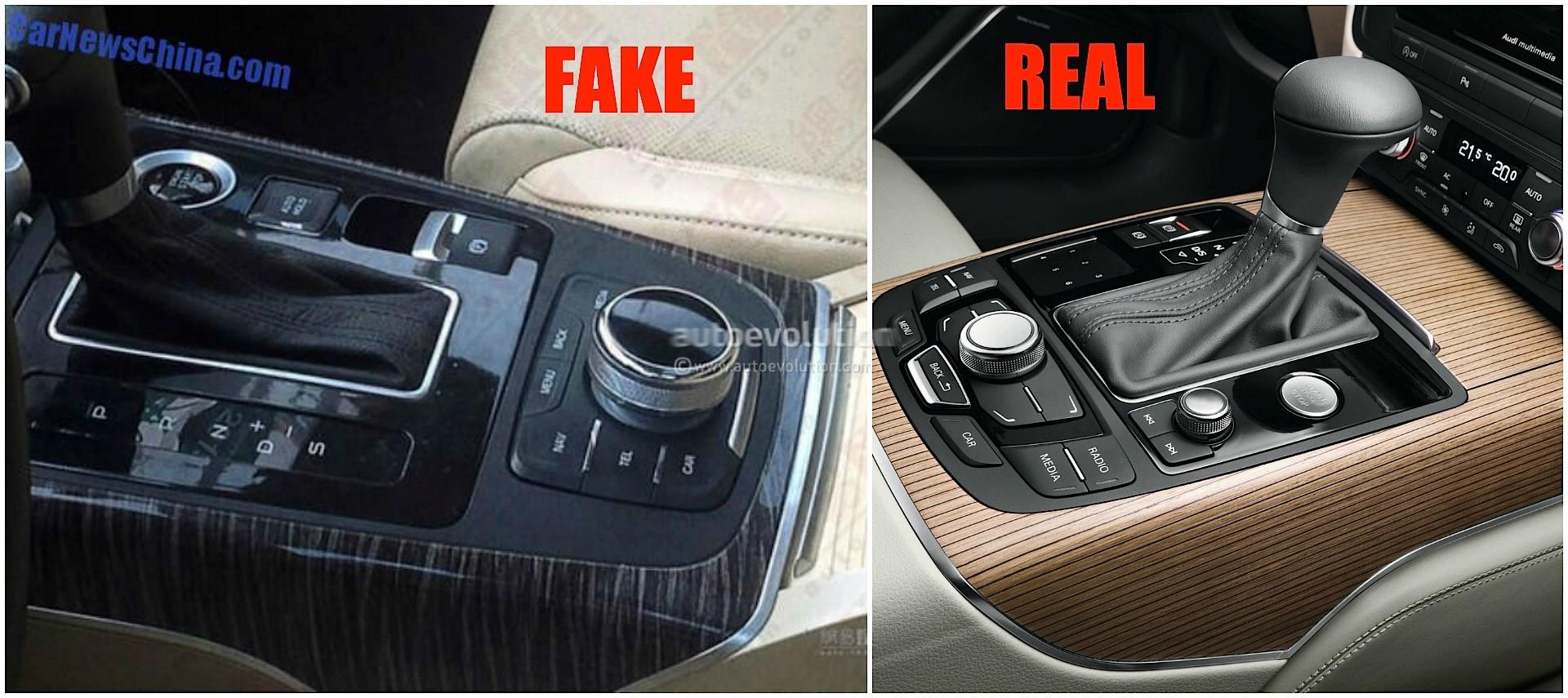 Chinese Automaker Jac Copies Audi A6 Calls It Refine A6 Autoevolution