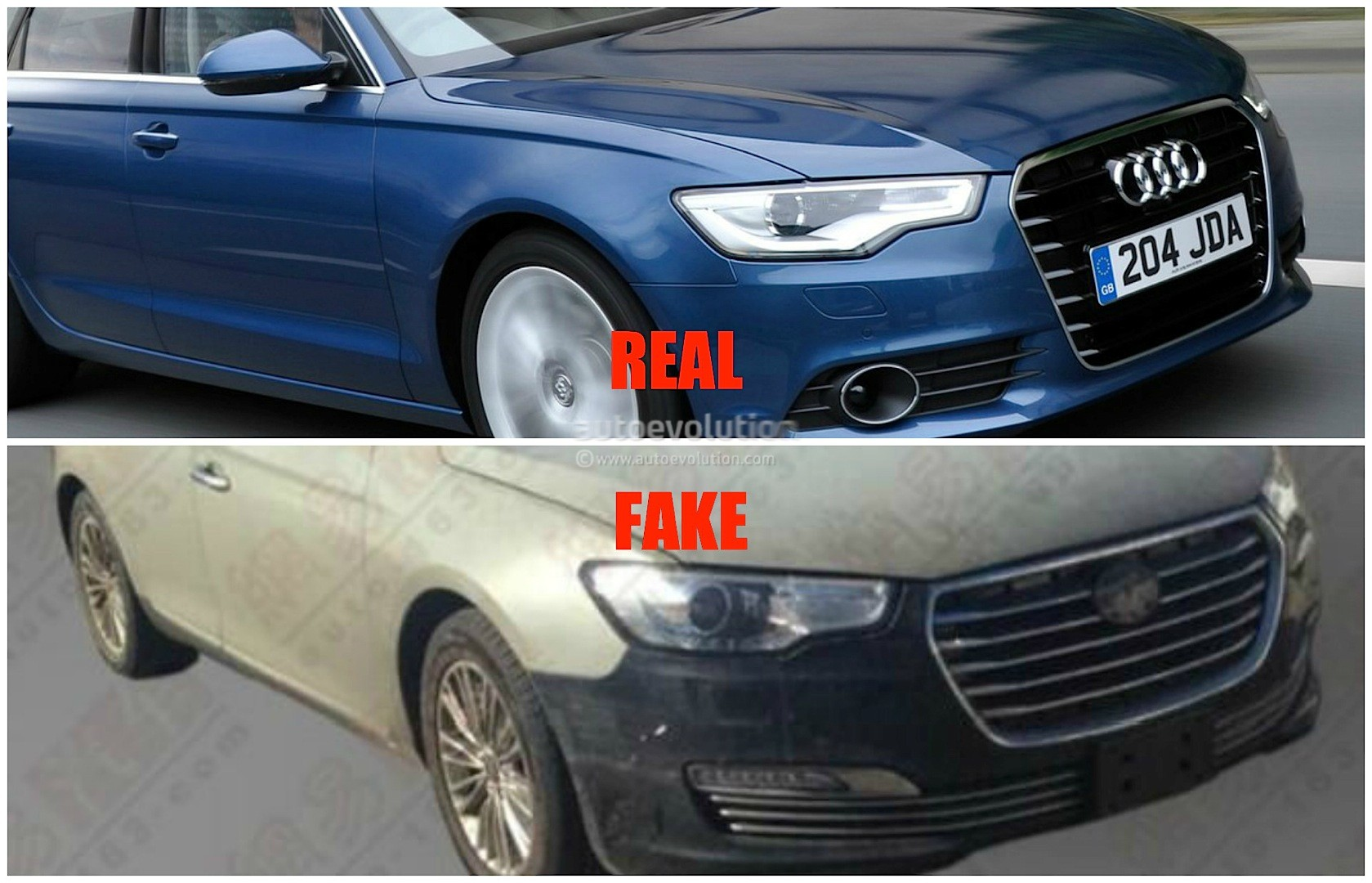 Chinese Automaker Jac Copies Audi A6 Calls It Refine A6