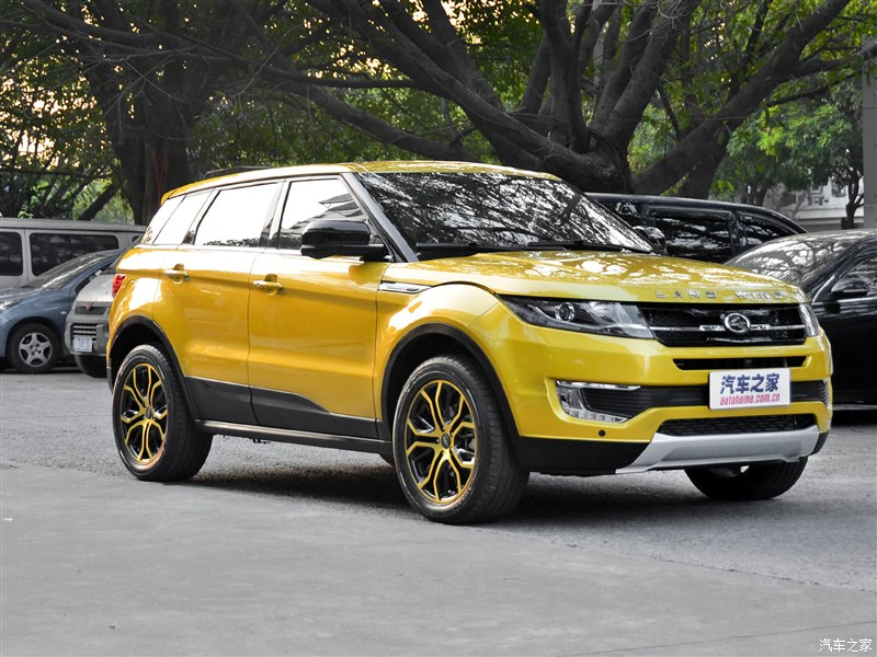chinese car company clones range rover evoque autoevolution. Black Bedroom Furniture Sets. Home Design Ideas