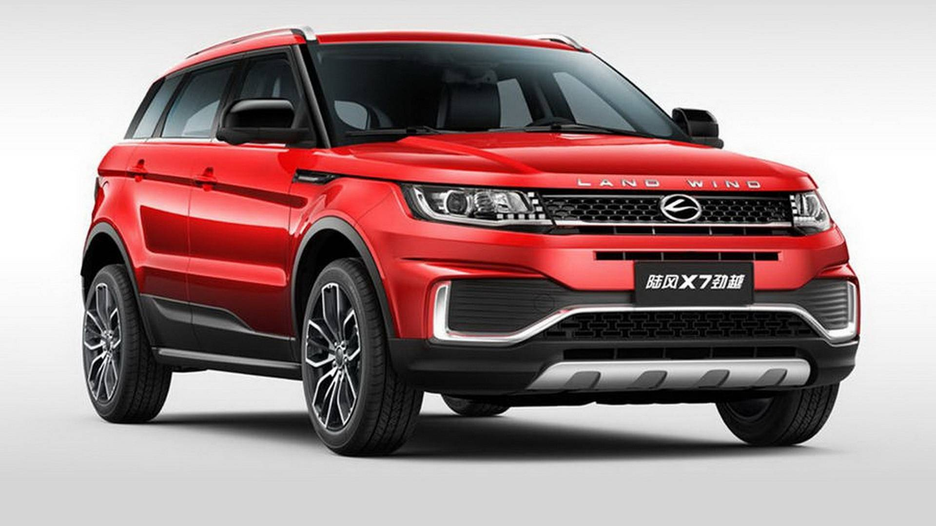 Chinese Clone Of Range Rover Evoque Gets A Facelift Looks A Little