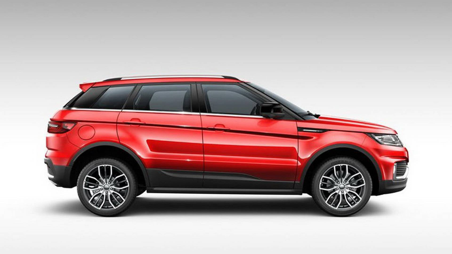 Chinese Clone Of Range Rover Evoque Gets A Facelift Looks