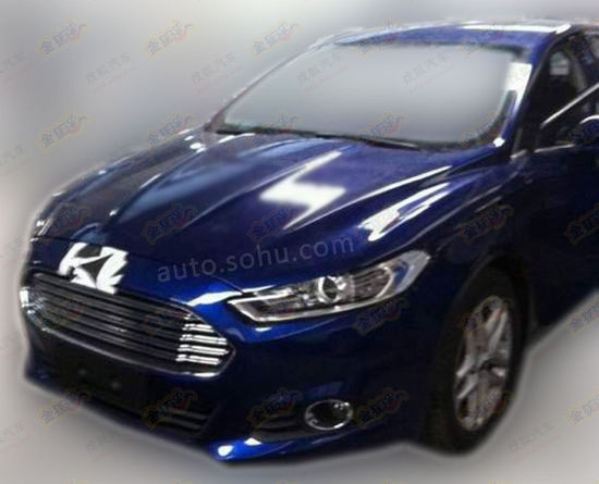 Chinese Ford Mondeo Gets Extra Shiny Chrome Fascia