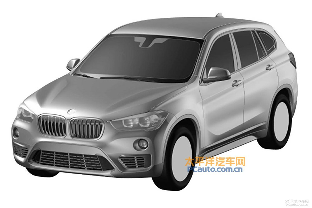 chinese patent images reveal design of bmw x1 with. Black Bedroom Furniture Sets. Home Design Ideas