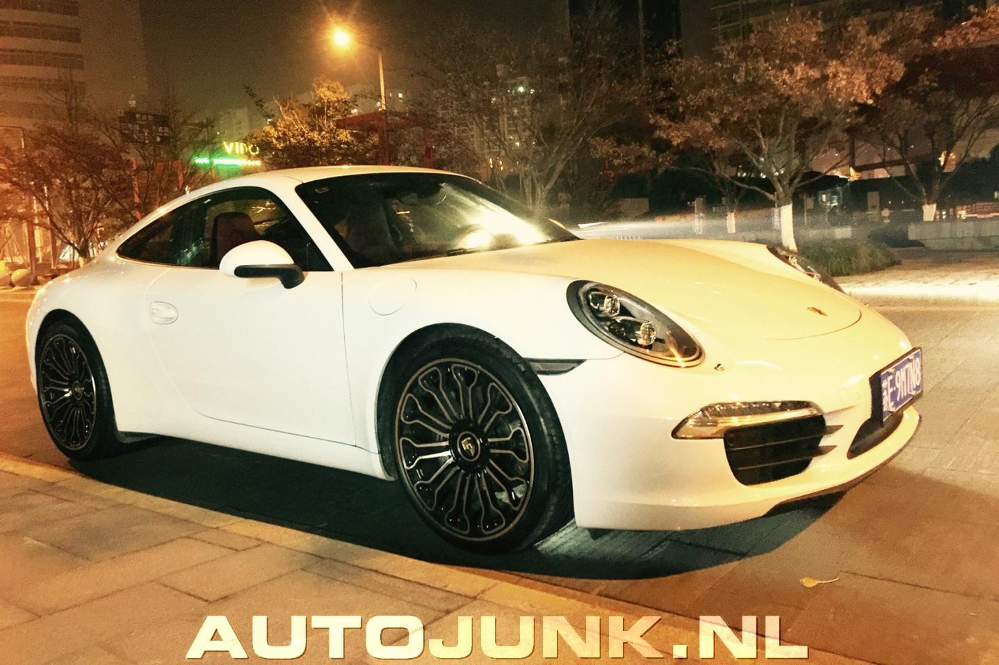 Chinese Porsche 911 With Fake 918 Spyder Wheels Isn T