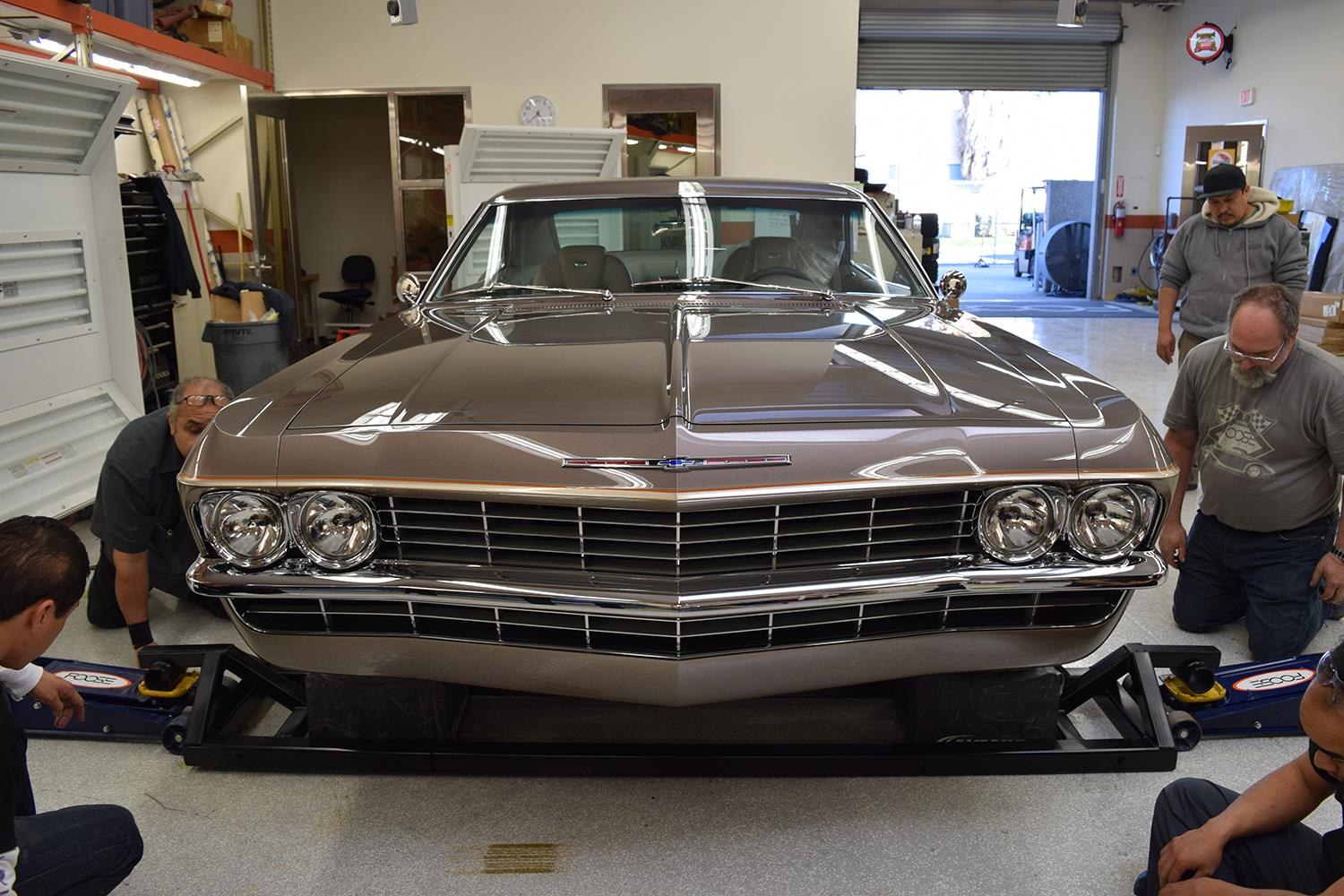 Chip Foose S 1965 Impala Quot Imposter Quot Is A Corvette In