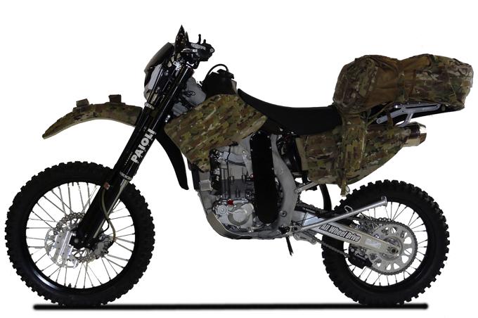 Christini Awd 450 Military Edition Bike Autoevolution