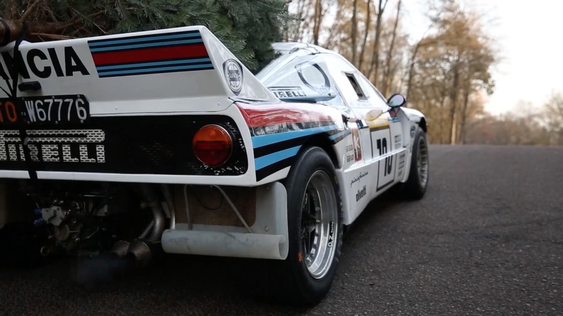 Christmas Trees Beware This Lancia 037 Martini Racing Is