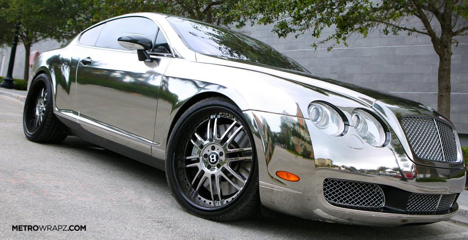 Bentley Flying Spur >> Chrome Bentley by Metro Wrapz [Video] - autoevolution