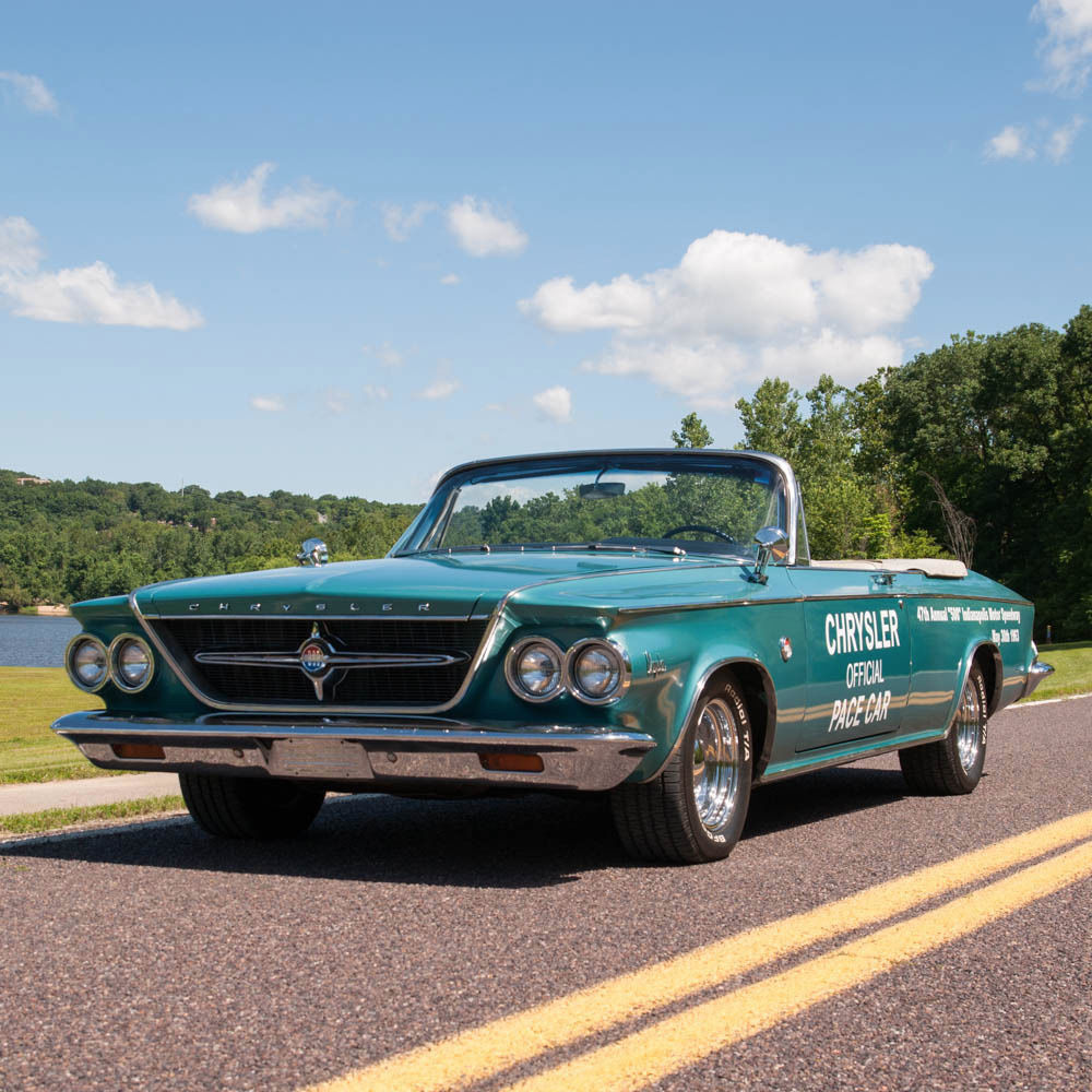 1963 Chrysler 300 Indy 500 Pace Setter Up For Sale