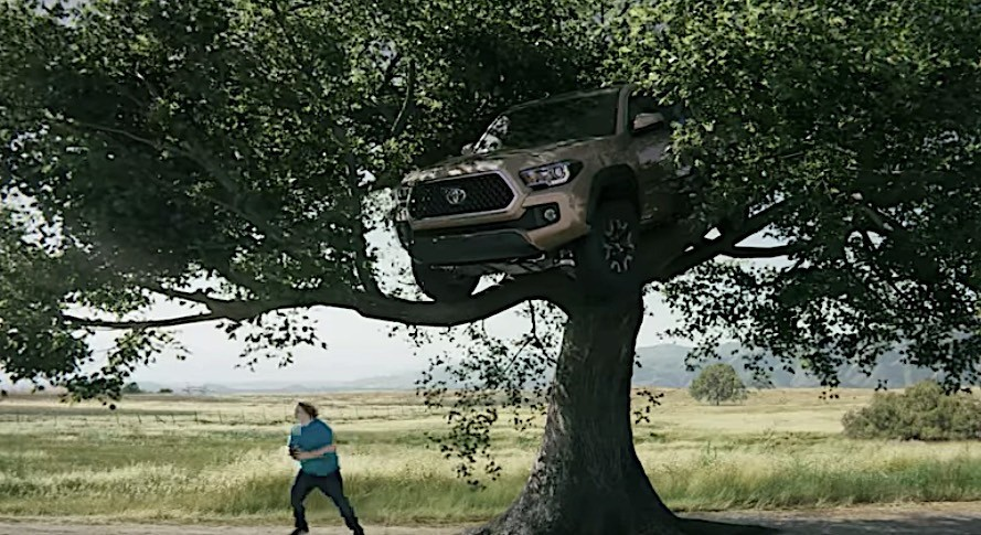 Toyota Tacoma Evolution >> Chuck Norris Signs Toyota Tacoma Into Surfing and Tree Climbing - autoevolution