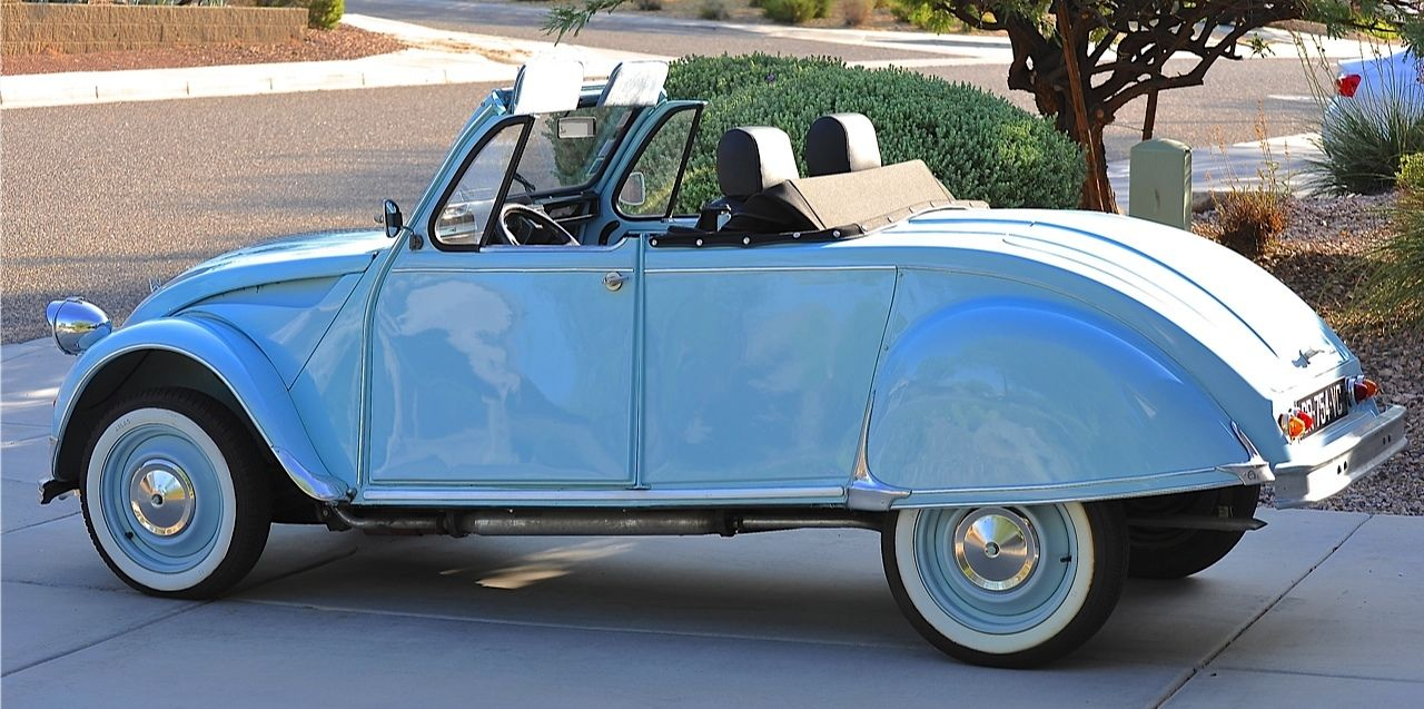 citroen 2cv azelle is a coachbuilt masterpiece of french