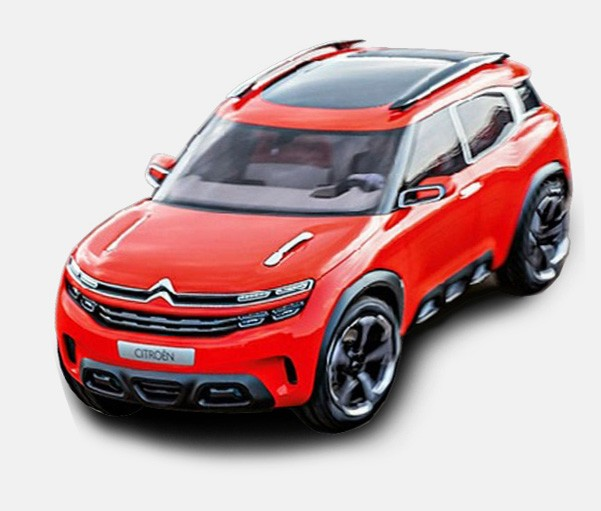 citroen aircross concept leaked with cactus inspired design autoevolution. Black Bedroom Furniture Sets. Home Design Ideas