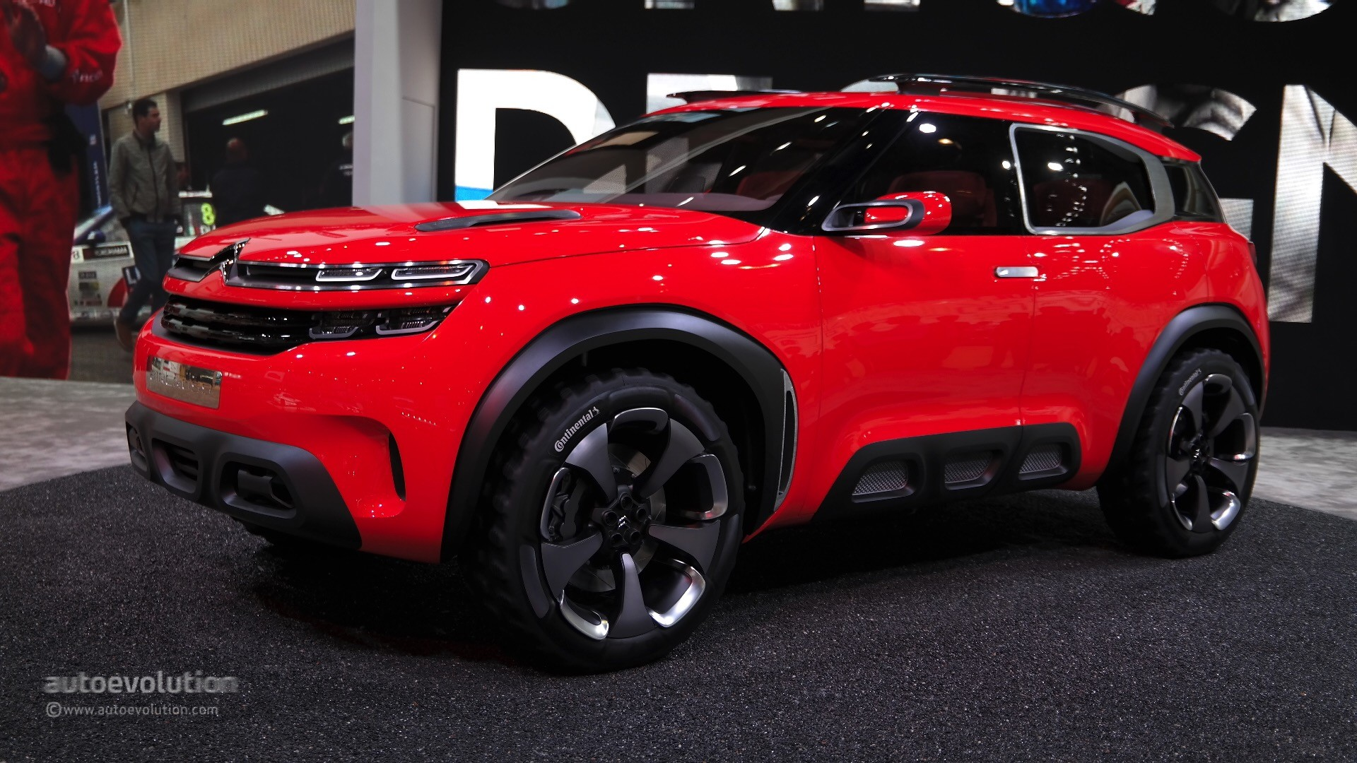 Citroen aircross concept makes a first appearance at the 2015 shanghai auto show autoevolution - Shanghai auto show ...