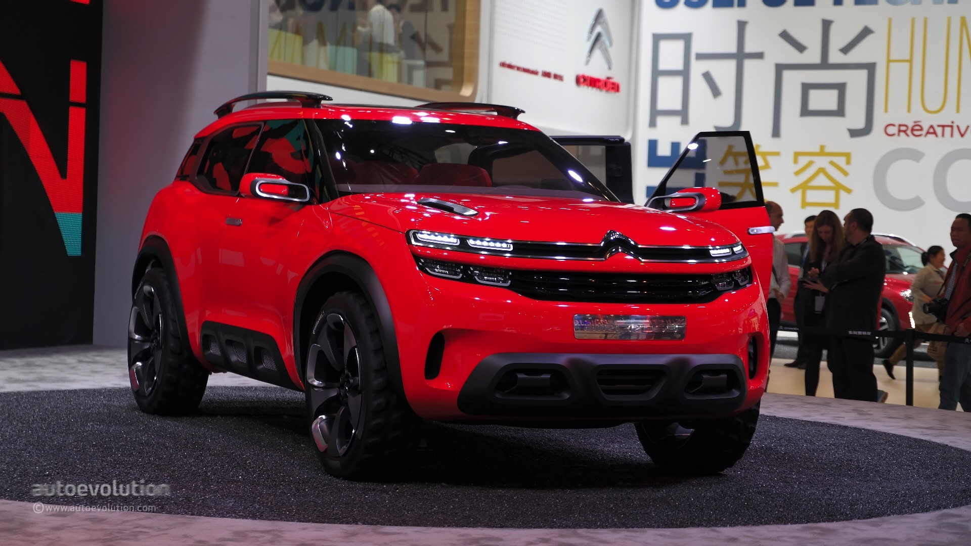 2018 Crossover Vehicles >> Citroen Aircross Concept Makes a First Appearance at the 2015 Shanghai Auto Show - autoevolution