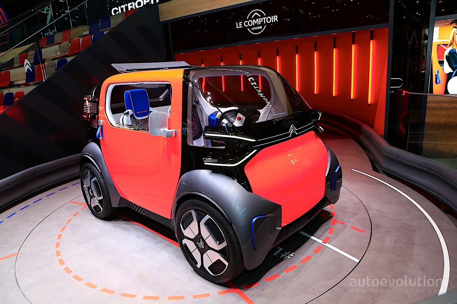 Car Transport Reviews >> Citroen Ami One Disrupts Geneva with Tiny Dimensions and ...