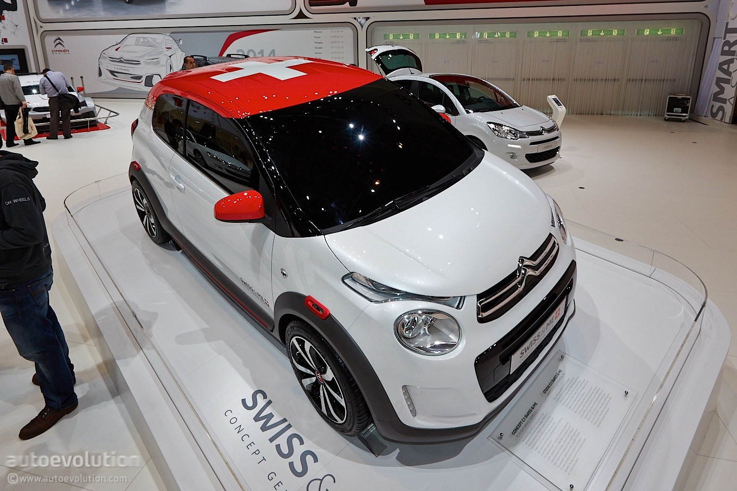 Citroen C1 Swiss Amp Me Concept Is An Army Knife In Geneva