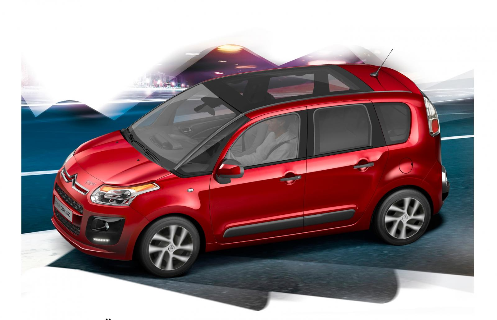 citroen c3 picasso gets updated for 2013 autoevolution. Black Bedroom Furniture Sets. Home Design Ideas