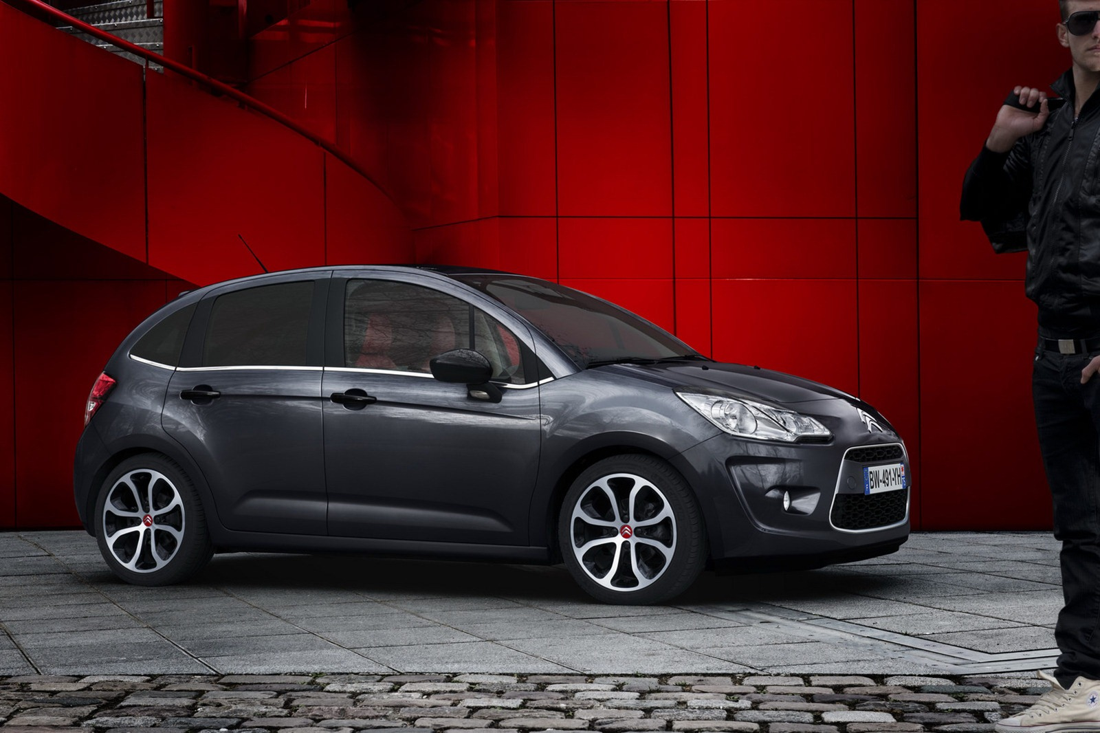 Citroen C3 Red Block Special Edition Coming To Geneva